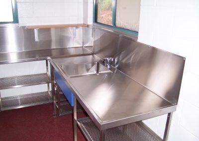 Stainless Steel Sink and Splashbacks